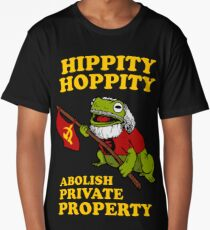 Hippity Hoppity Abolish Private Property Long T-Shirt