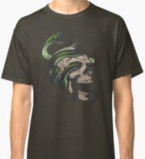 Snake in Skull Classic T-Shirt