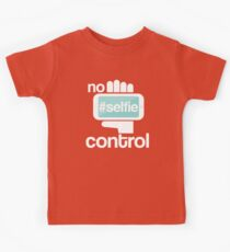 No selfie control Kids Tee