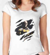 punch man Women's Fitted Scoop T-Shirt