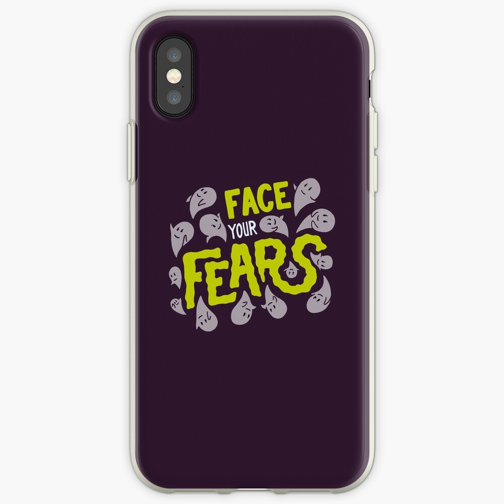 Face your fears iPhone Cases & Covers