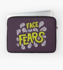 Face your fears Laptop Sleeve