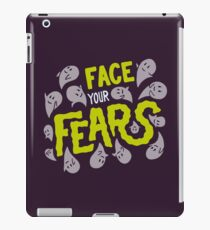 Face your fears iPad Case/Skin