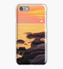 calm sunrise over the sea shore iPhone Case/Skin