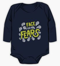 Face your fears Long Sleeve Baby One-Piece
