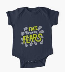 Face your fears Short Sleeve Baby One-Piece