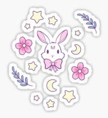 Sakura Bunny Sticker