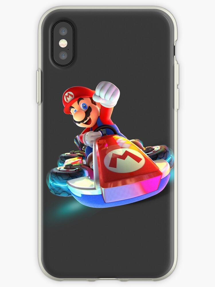 'Mario Kart 8 Deluxe' iPhone Case by ciccioDeeamci