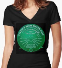 Tellin' a Furphy Women's Fitted V-Neck T-Shirt