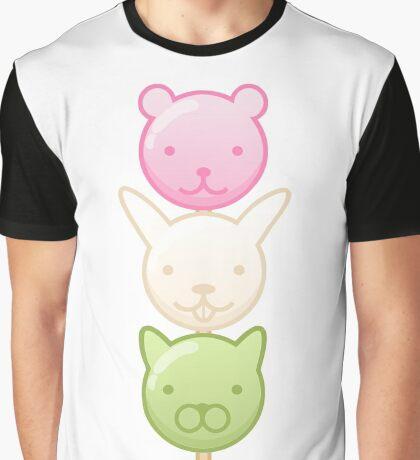 Cute Dango Graphic T-Shirt