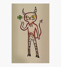 Lucky Devil Photographic Print