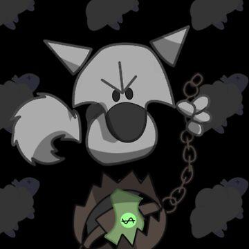 Evil Wolf by StudioColrouphobia