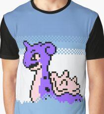 Lapras Pixel Pokémon Graphic T-Shirt