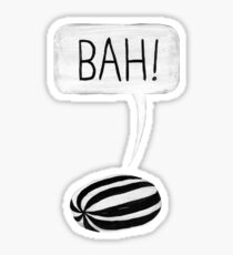 Bah Humbug Sticker