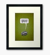 Bah Humbug Framed Print