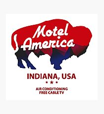 motel america Photographic Print