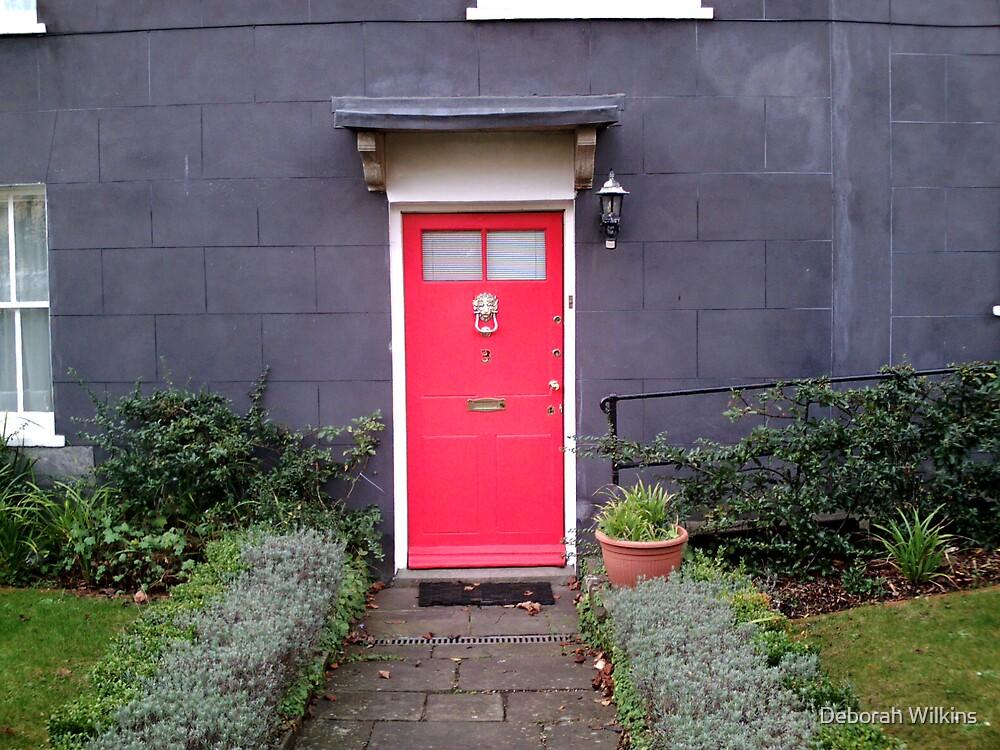 The red door by Deborah Wilkins