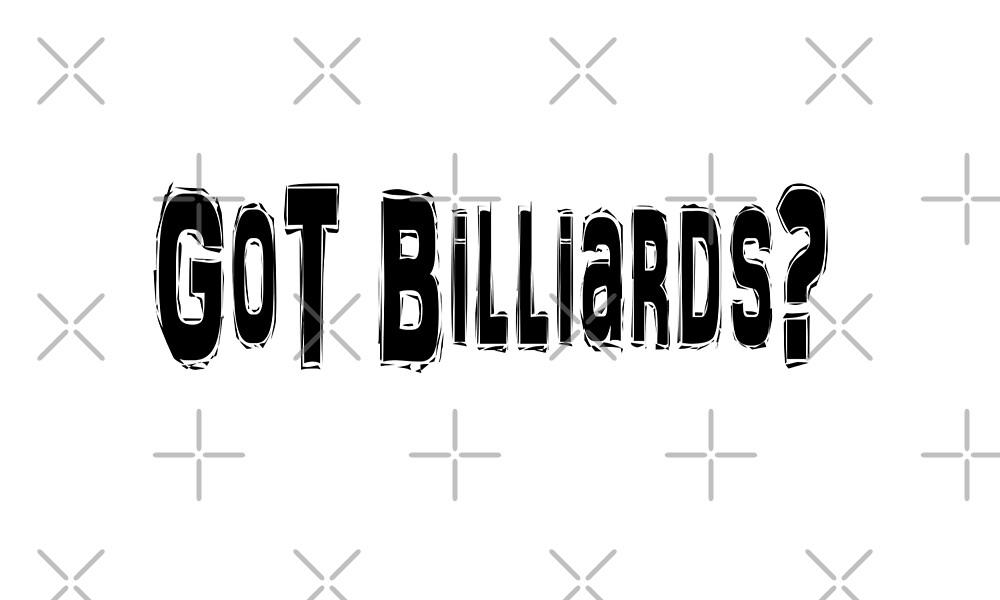 Billiards  by greatshirts