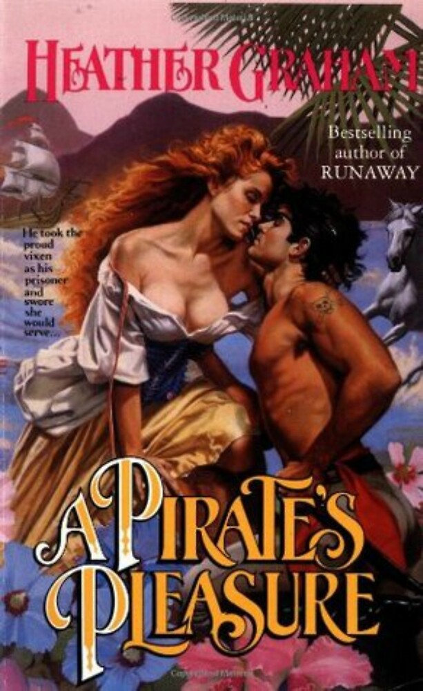 A Pirate's Pleasure Romance Novel Cover by RookieRomance