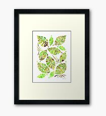 Tropic Fever —Greenery Version Framed Print