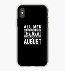 August Birthday Quotes iPhone cases & covers for XS/XS Max, XR, X, 8