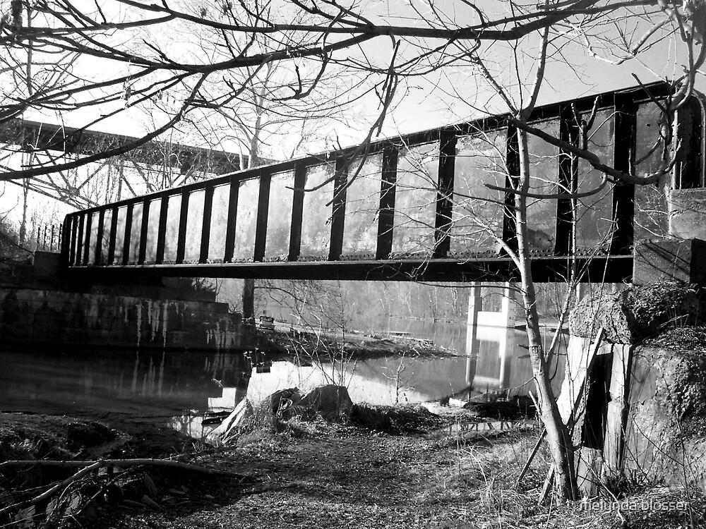 B&W bridge by melynda blosser