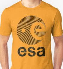 European Space Agency Vintage Black V01 T-Shirt