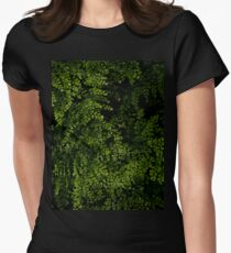 Small leaves.  Fitted T-Shirt