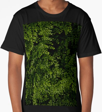 Small leaves.  Long T-Shirt