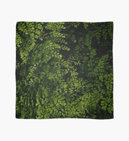 Small leaves.  Scarf