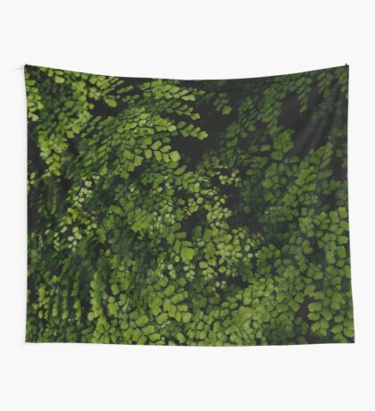 Small leaves.  Wall Tapestry