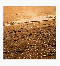 On the seashore Photographic Print