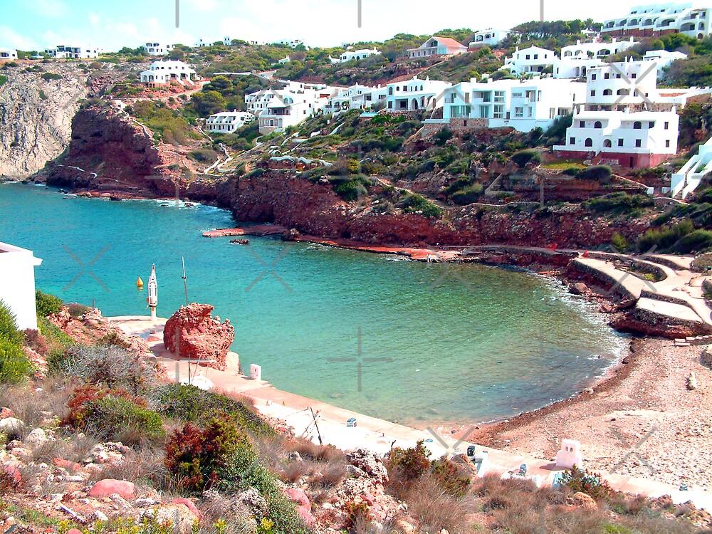 Cala Morell Bay by Tom Gomez
