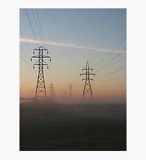 Electric Dawn Photographic Print