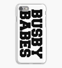 Busby Babes iPhone Case/Skin