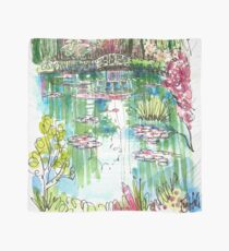The Japanese Bridge at Monet's garden Scarf