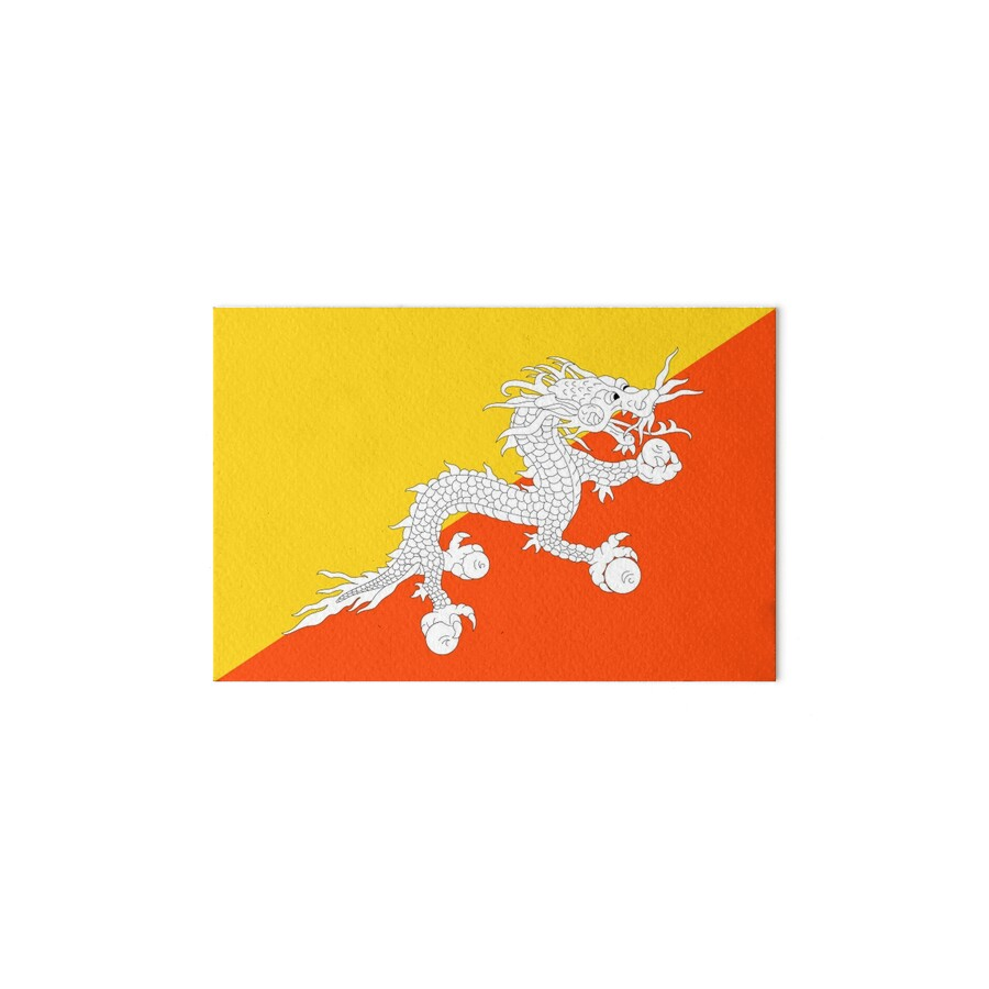 BHUTAN, TIBET, Flag of Bhutan, Tibetan, Buddhist, Thunder, Dragon ...