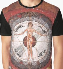 Universal Man, Book of Divine Works Graphic T-Shirt