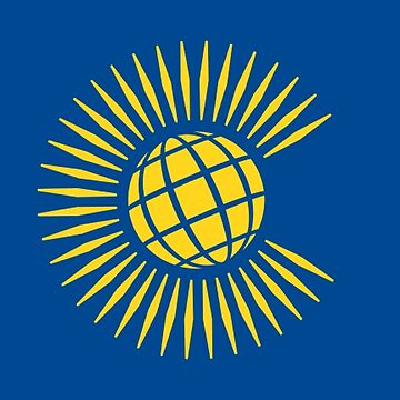 COMMONWEALTH, Commonwealth Flag, Flag of the Commonwealth of Nations, as adopted in 2013 by TOMSREDBUBBLE