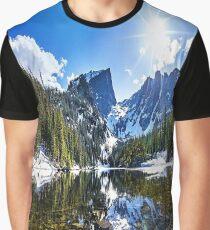Crystal Mountain Lake Graphic T-Shirt