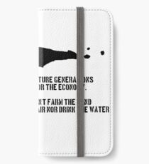 Explain to Future Generations iPhone Wallet/Case/Skin