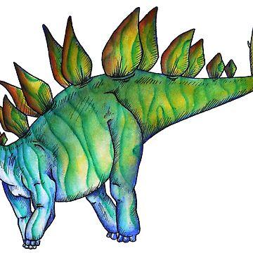 Stegosaurus by E-McAleavey
