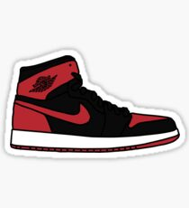 Jordan 1 Bred Sticker