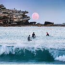 Bondi moon by Adriano Carrideo