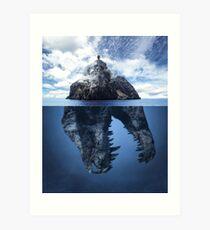 Extinction V.2 Art Print
