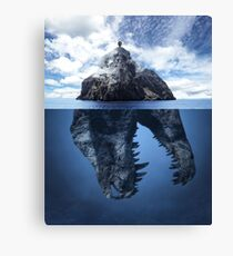 Extinction V.2 Canvas Print