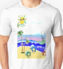 Beach Party for the Baby Crabs Unisex T-Shirt