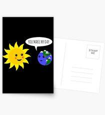 Du hast meinen Tag gerettet Postkarten