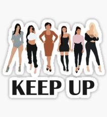 Keep Up Sticker