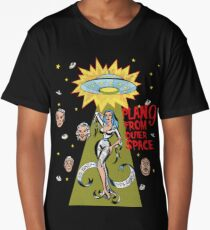 Plan 9 from outer space tee shirt Long T-Shirt